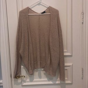 Tan Summer Cardigan urban outfitters